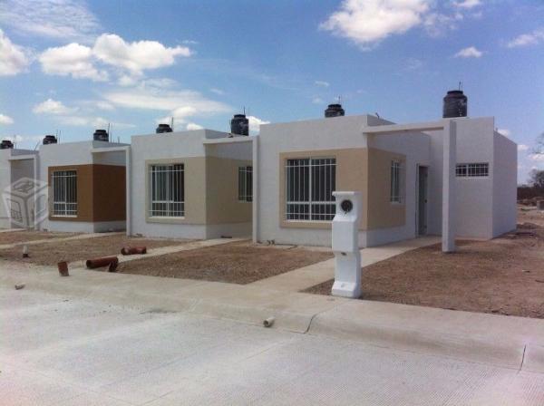 Casas nuevas de 2 recámaras en kanasín