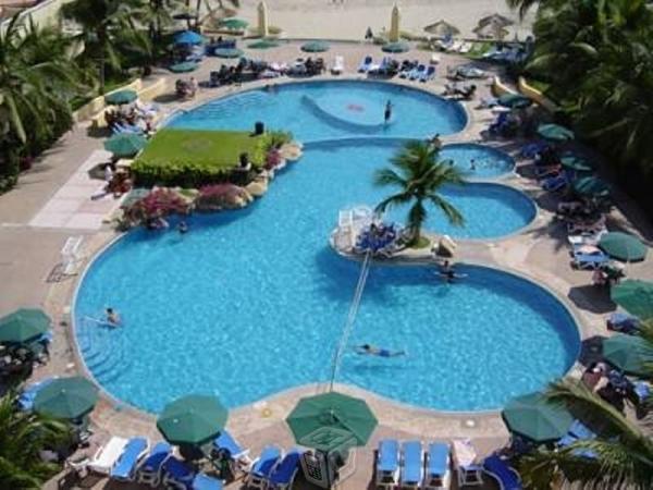 Ixtapa villa hotel tesoro con playa