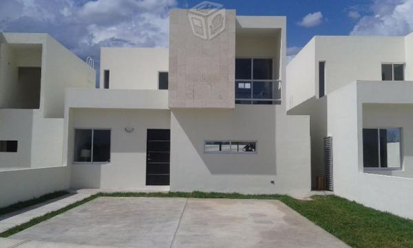 Preciosa casa en Cholul,3rec,terreno 9.7.x33.05