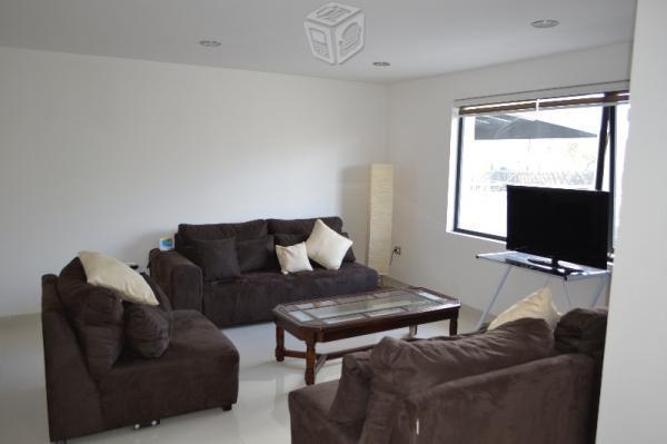 Renta casa nueva en fraccionamiento residencial