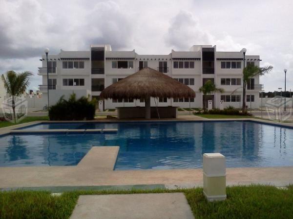 Departamento en Playa del Carmen renta mensual