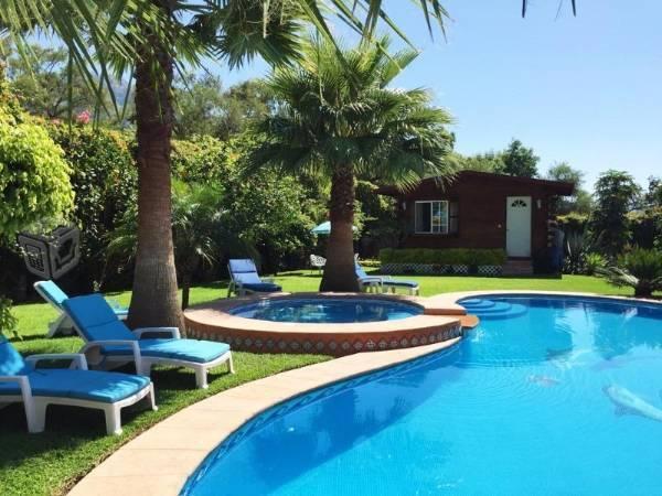 Hermosa casa estilo Mexicano clásico en