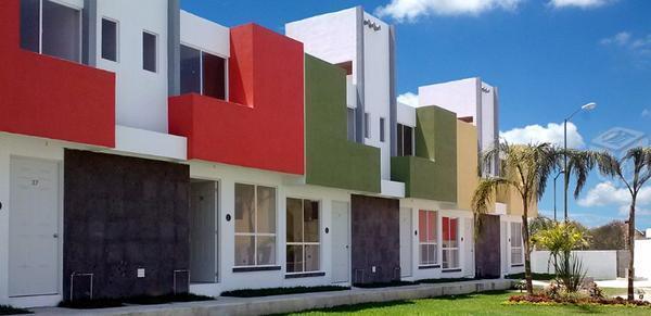 Casas con alberca, seguridad, subsidio