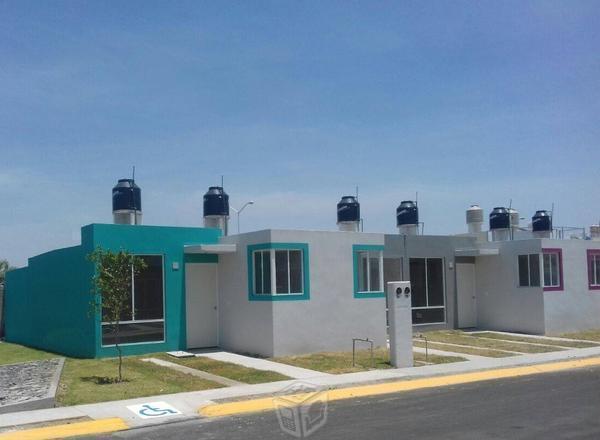Casas 2 recamaras unifamiliar AV 8 JULIO