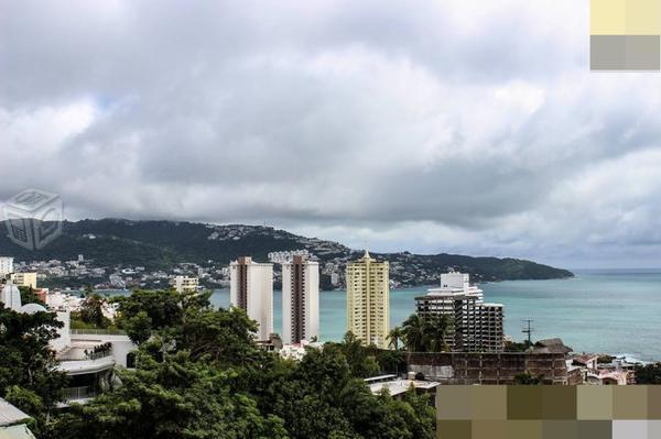 Departamento amueblado con hermosa vista a bahía