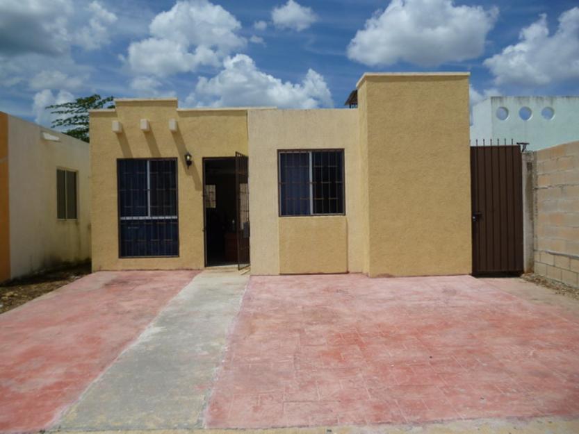 Casa amueblada cerca de Periferico, salida a Uman, Aeropuerto y Cd Industrial