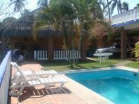 Casa en renta vacacional en playa chachalacas